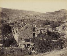 "Gateway to the ""Metzuda"" Citadel, Banias, Golan Creator: Francis Bedford (1815-94) (photographer) Creation Date:  23 Apr 1862"