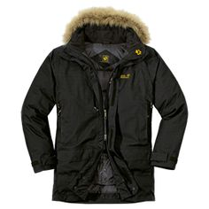 Very warm and robust TEXAPORE down parka with multiple features - Insulated TEXAPORE jackets - All jackets - Men - Apparel - Jack Wolfskin U...