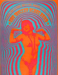 Miller Blues Band ● The Matrix (S.F., CA) 1967 by Victor Moscoso