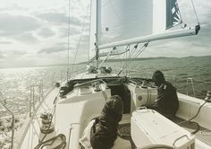 What a great day sailing on the ocean!  Photo from @ jeso.g Instagram