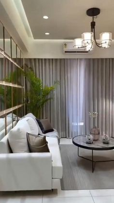 Living Room Decor Curtains, Living Room Divider, Bedroom Decor For Small Rooms, Decor Home Living Room, Living Room Sofa Design, Home Room Design, Living Room Designs, India Home Decor, Apartment Interior Design