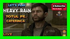 LIVE |🔴| INCEPEM SA JUCAM HEAVY RAIN,...LA SFARSIT JUCAM PUBG SI COD Lets Play, Cod, Channel, Rain, Games, Live, Youtube, Movie Posters, Movies