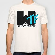 Wtf T-shirt by Ant Atomic - $22.00