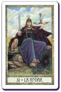 Tarot - Arcanos mayores: La Justicia
