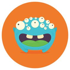 HoverChat Stickers by Fitz Fitzpatrick, via Behance