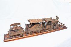 steampunk паровоз