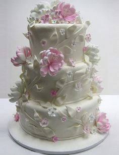 Wedding Cakes, Beverly Hills, Los Angeles, California by Pâte Sucre Desserts