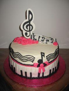 music birthday cakes | Music to my ears