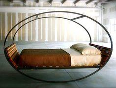 + Design de produto :     Que tal dormir em uma cama assim?