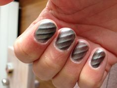 Magnetic nail lacquer van Golden Rose nr 06