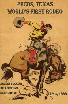 Bucking horse..I do believe I have this can't wait to get it framed!,