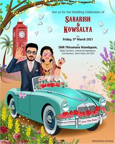 Cute And Trendy E Invitation Designs For The Intimate Weddings E Invite, Invitation Card Design, Digital Invitations, Invitation Cards, Intimate Weddings, Simple Weddings, Bollywood Theme Party, Illustrated Wedding Invitations, Wedding Invitations With Pictures