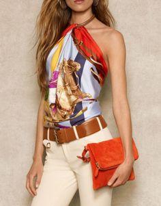 #style #fashion #ralphlauren Ralph Lauren...love the colors!