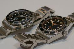 Rolex Submariner vs. Tudor Black Bay - Kein Vergleich. Ein Review, viele Bilder --->
