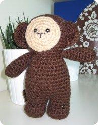 crochet monkey for baby shower gift?