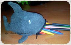 Norobe: DIY estuche para lápices de pez
