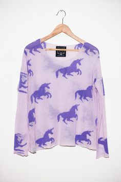 Unicorn print from Drop Dead Clothing