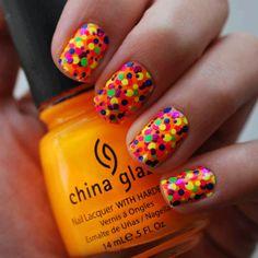 Colors Nail art