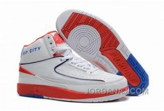 45d95c30cde56a Air Jordan Shoes Air Jordan 2 Retro Rip City White Red Blue  Air Jordan 2 -  Take a look at another style in white