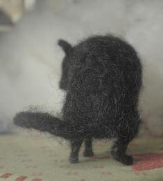 Black Dog of Felt