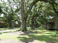 Slave quarters, Evergreen Plantation, Edgard, Louisiana