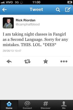 """today in """"Rick Riordan Is Better Than You"""""""