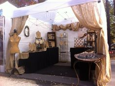 e.s. Designs Booth! Just gorgeous!