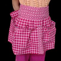 Chicken Scratch ~ Child's Hold-it-all Apron