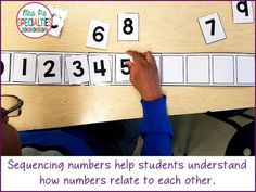 Special education students need to develop a strong understanding of numbers and how they relate to each other. This deep understanding will hep them learn life skills and be functional in their community. Here are some of the materials and activities we Special Education Activities, Autism Activities, Special Education Classroom, Autism Education, Counting Activities, Education System, Classroom Activities, Life Skills Classroom, Math Skills