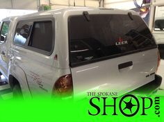 Toyota Tacoma Window Tinting Protection Film by The Spokane Shop
