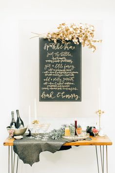 surprise holiday elopement brunch - photo by Jenna Bechtholt Photography http://ruffledblog.com/surprise-holiday-elopement-brunch