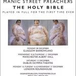 Manic Street Preachers mark the 20th anniversary of the Holy Bible with Full Album Shows