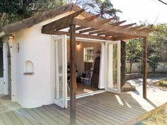 Pergola Attached To House Roof Code: 5840157675 Pergola Attached To House, Pergola With Roof, Pergola Plans, Diy Pergola, Pergola Kits, Pergola Ideas, Hot Tub Pergola, White Pergola, Pergola Shade