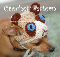 Instant Download Crochet Pattern   The Grumpy by poshpoochdesigns, $3.99