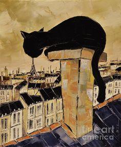 Atelier De Jiel Black Cat in Paris