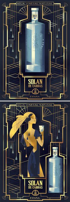 Print Advertising : Solán de Cabras Print Advertising Campaign Inspiration Solán de Cabras Advertisement Description Solán de Cabras Don't forget to share the post, Sharing is love ! Art Deco Typography, Art Deco Font, Typography Design, Lettering, Web Design, Creative Design, Design Art, Dm Poster, Poster Design
