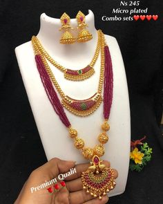 jewelry available at Arshi's. for bookings whatsapp on worldwide shipping 1 Gram Gold Jewellery, 18k Gold Jewelry, Silver Jewellery Indian, Pearl Jewelry, Bridal Jewelry, Beaded Jewelry, Indian Jewelry Earrings, India Jewelry, Gold Earrings