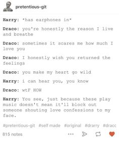 Drarry.. I guess I'm shipping way too aggressively!