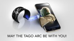 A cool work of a tago arc from a Star Wars fan :)