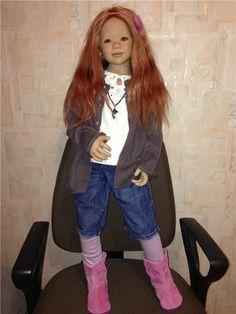 Инга и Сина приглашают в гости! Коллекционные куклы Annette Himstedt / Коллекционные куклы Annette Himstedt / Бэйбики. Куклы фото. Одежда для кукол