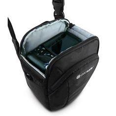 If you're serious about photography, your camera is probably your most valued possession, so keep it safe with the safety feature-packed Pacsafe Camsafe V3 Camera Top Loader bag. $89.95 http://www.corporatetravelsafety.com/catalog/pacsafe-camsafe-v3-anti-theft-camera-top-loader-bag.html