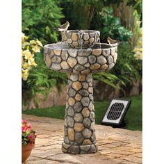 Check out this Outdoor Water Fountains on BriskSale:  https://www.brisksale.com/refer/58d0ac575a58de61194ed352?utm_campaign=crowdfire&utm_content=crowdfire&utm_medium=social&utm_source=pinterest