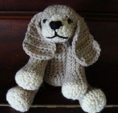 PATTERN PDF Crocheted or Crocheted and Felted Cocker Spaniel Amigurumi Pattern