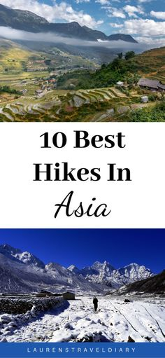 I've enlisted the help of 10 hiking enthusiasts to showcase their favourite hike in Asia. From the legendary Everest Base Camp trek to the short but beautiful hike to Tiger's Nest in Bhutan, this list has something for everyone. Hiking Spots, Go Hiking, Hiking Trips, Places To Travel, Travel Destinations, Everest Base Camp Trek, Best Hikes, China Travel, Day Hike