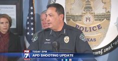 After the shooting in Austin last week, our dear police chief has come up with a plan to curb future shootings, namely ... tell the cops about your friends or family members who love guns. Especially if they 'hate' anyone. Uh, okay.