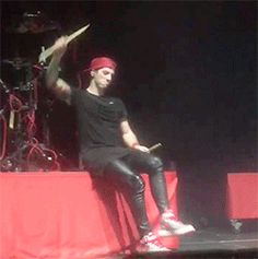 """""""When you're a drummer and you say something sick but don't have a mic to drop."""""""
