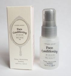 "Rosalie & Violetta: Etude House ""Face Conditioning Fixer""  #etudehouse #Beauty #Makeup #cosmetic #skincare #mist #spray #moisturizing"