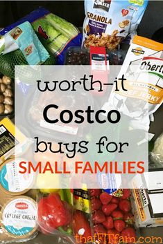 Top Costco buys for small families! You don't need to have a ton of people to…