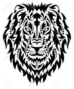 Kopf Eines Löwen. Lizenzfrei Nutzbare Vektorgrafiken, Clip Arts, Illustrationen. Image 31517483.
