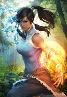 Korra by Artgerm.deviantart.com on @DeviantArt - More at https://pinterest.com/supergirlsart/ #avatar #korra #the #legend #of #korra #thelegendofkorra #girl #fanart